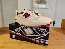 Aime Leon Dore New Balance Navy/Red 550, size 10, brand new with box