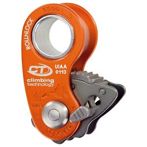 Climbing Technology ROLLNLOCK - Ultra-light pulley / rope clamp (only 80 g!)