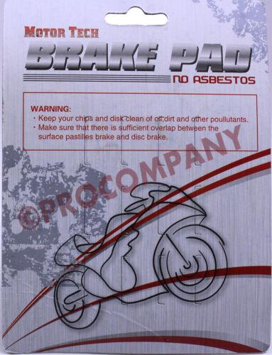 Front Rear Brake Pads for Arctic Cat 650 HI TRV 4X4 MudPro 2005-2010 2011 ATVs