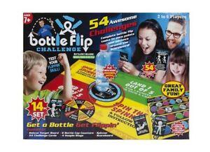 14-PC-Bouteille-Clapet-Defi-Set-2-Pour-6-Joueurs-Spinner-Game-Set