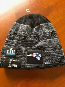 Image is loading New-England-Patriots-New-Era-NFL-Knit-Hat- 6347bfe1358e