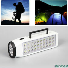 Rechargeable 38 LED Flashlight Torch Home Outdoor Emergency Light Lamp Portable