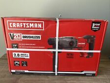 Brand New Craftsman V20 Hammer Drill Cordless Sds Rotary Tool Only Cmch233b