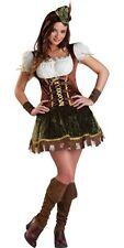 FOREST BANDIT ROBIN HOOD GIRLS STORY BOOK WEEK FANCY DRESS HALLOWEEN  COSTUME S!