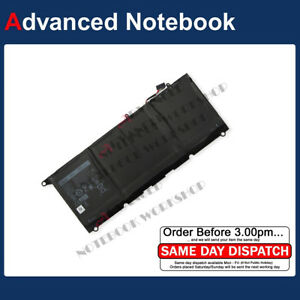 Details about Genuine 7 6V 60Wh PW23Y Battery For Dell XPS 13 9360  13-9360-D1605G