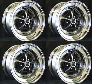 Magnum 500 Wheels >> New Ford Mustang Magnum 500 Wheels 15 X 8 Set Of Complete W Caps