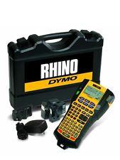Dymo Rhino 5200 - Printer, Case, Charger, Li-Ion Battery & 2 Free Tapes