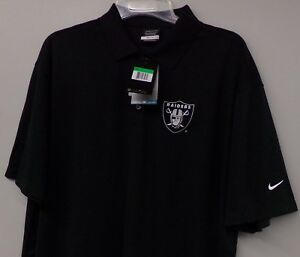 00c50841b502 Image is loading Oakland-Raiders-NFL-Football-Nike-Golf-Dri-Fit-