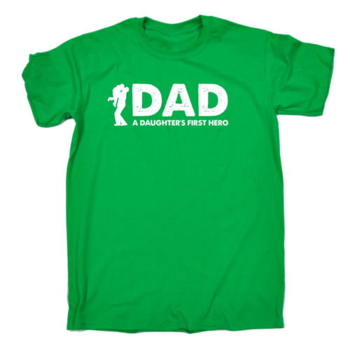 Dad A Daughters First Hero MENS T-SHIRT tee birthday gift dad father husband