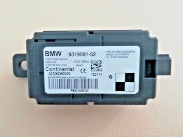 BMW 1er F20 F21 2er F22 3er F30 F31 9319081 Unidad de Control Remoto 434MHZ F15