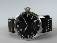 Mechanical B-uhr FLIEGER pilot watch type Unitas 6498 Superluminova SAPPHIR V2