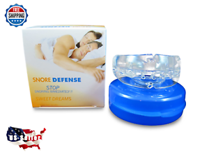 NEW-Stop-Snoring-Mouthpiece-Apnea-Aid-MouthGuard-Sleep-Bruxism-Snore-Guard-Grind