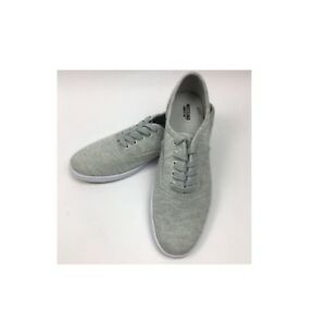 Mossimo-Supply-Co-Women-039-s-Emilee-Lace-Up-Canvas-Cloth-Tennis-Shoe-Sneaker-Grey