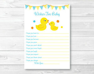 image is loading rubber duck printable baby shower wishes for baby