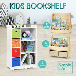 Children Bookcase Display Rack Cabinet