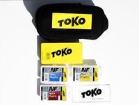 Toko Basic Hot Wax Ski Kit With Carry Bag