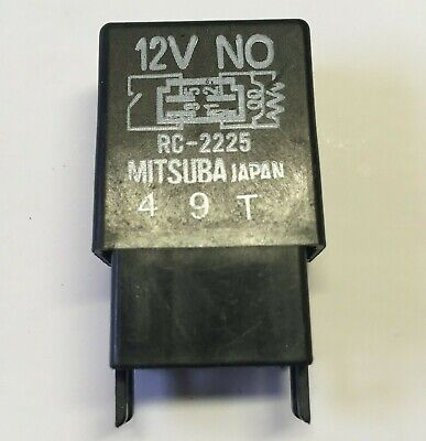 Honda /& Acura 4-Pin Multi Use Black Relay RC2225 RC2226 056700-7250 90-12