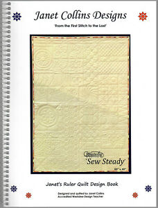 Janets Ruler Quilt Design Book 701233714114 Ebay