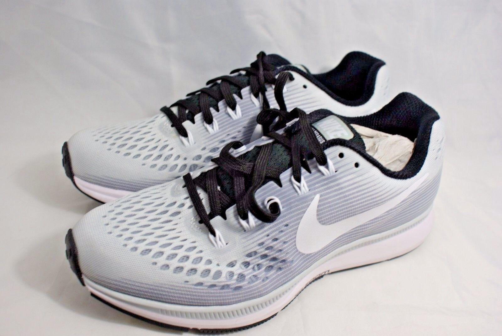 Nike air zoom pegasus 34 2017 uomo numero 7 delle scarpe da corsa 887017 nero, grigio e bianco