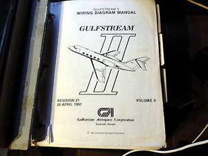 details about grumman gulfstream ii wiring manuals volume ii a 2 vol set