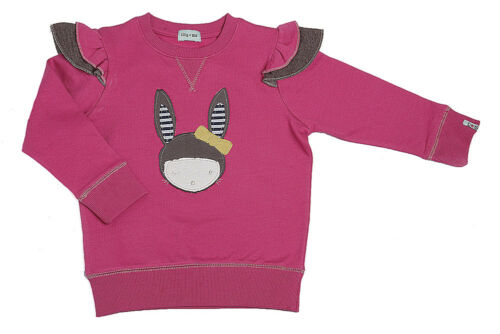 *SALE//REDUCED BNWT Lilly and Sid Sister Winky Bunny Applique Frills Sweatshirt