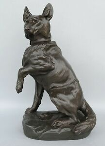 Deutscher-Schaeferhund-grosse-Hunde-Skulptur-CARTIER-German-Shepherd-Dog