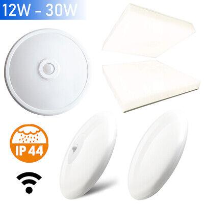 30w Led Decken Leuchte Badlampe Badleuchte Ip44 Bewegungsmelder Sensor Ehrgeizig 12w Büromöbel Möbel & Wohnen