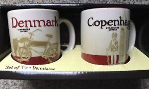 Espresso Coffee Cup Mug NEW SKU STARBUCKS New Zealand Global Icon Demitasse