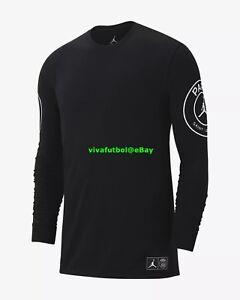0698516f1d2c Nike Mens Jordan X Paris Saint-germain PSG BCFC Long-sleeve T-shirt Tee 2xl for  sale online