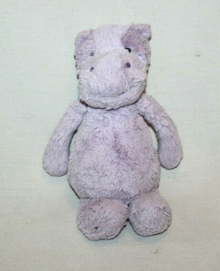 Jellycat Bashful Lilac Hippo Small 7in For Sale Online Ebay