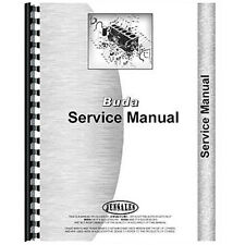 New Engine Service Manual For Buda Tractor