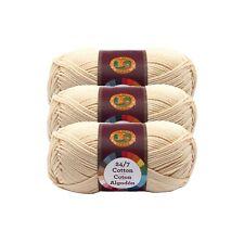 Lion Brand Yarn 761-153 24-7 Cotton Yarn Black