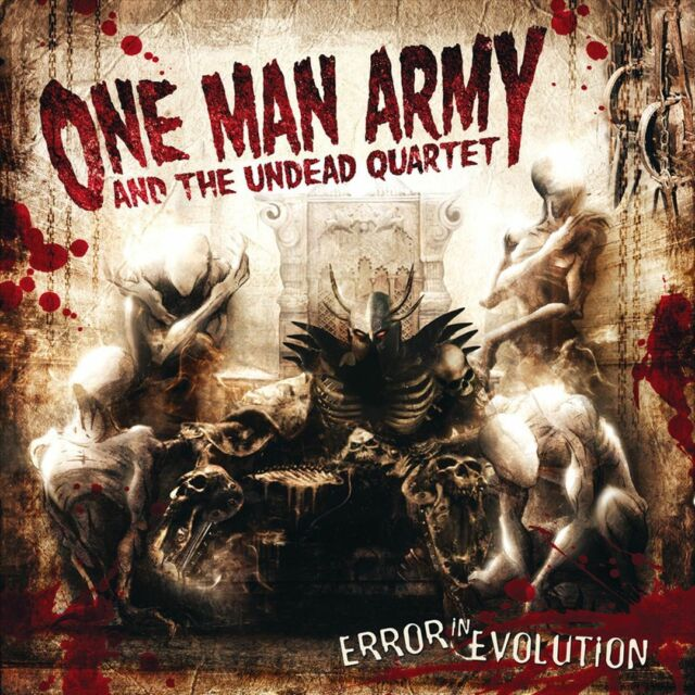 ONE MAN ARMY AND THE UNDEAD QU - Error In Evolution