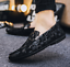 Plus-Size-Men-039-s-Flat-Slip-on-Leather-Loafers-Casual-Lazy-Driving-Moccasins-Shoes thumbnail 17
