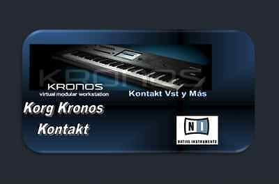 Korg Kronos for Kontakt  997 Nki Patches + Wav Samples  | eBay