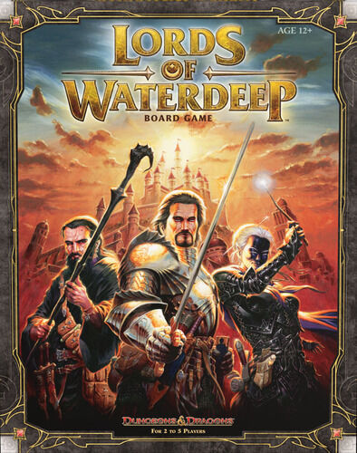 Dungeons  & Dragons, D&D, Lords of Waterdeep, Boardgame, nouveau by Wizards, English  vente en ligne