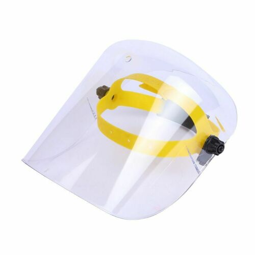 FACE SHIELD ADJUSTABLE FRAME US SELLER CLEAR THICK GRINDING MASK ANTI FOG