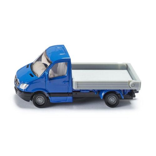 nuevo ° blister Siku 1424 Mercedes Sprinter Transporter camastro azul//plata