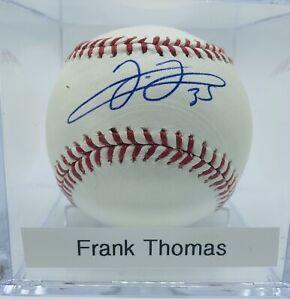 JSA-Authenticated-HOF-Frank-Thomas-Autograph-On-Official-MLB-Baseball-UV-Case