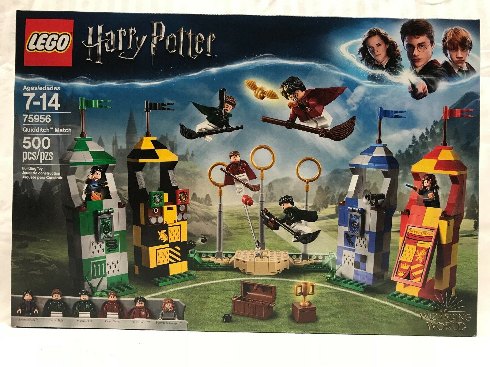 LEGO HARRY POTTER QUIDDITCH MATCH SET 75956 NEW IN HAND WIZARDING WORLD 2018