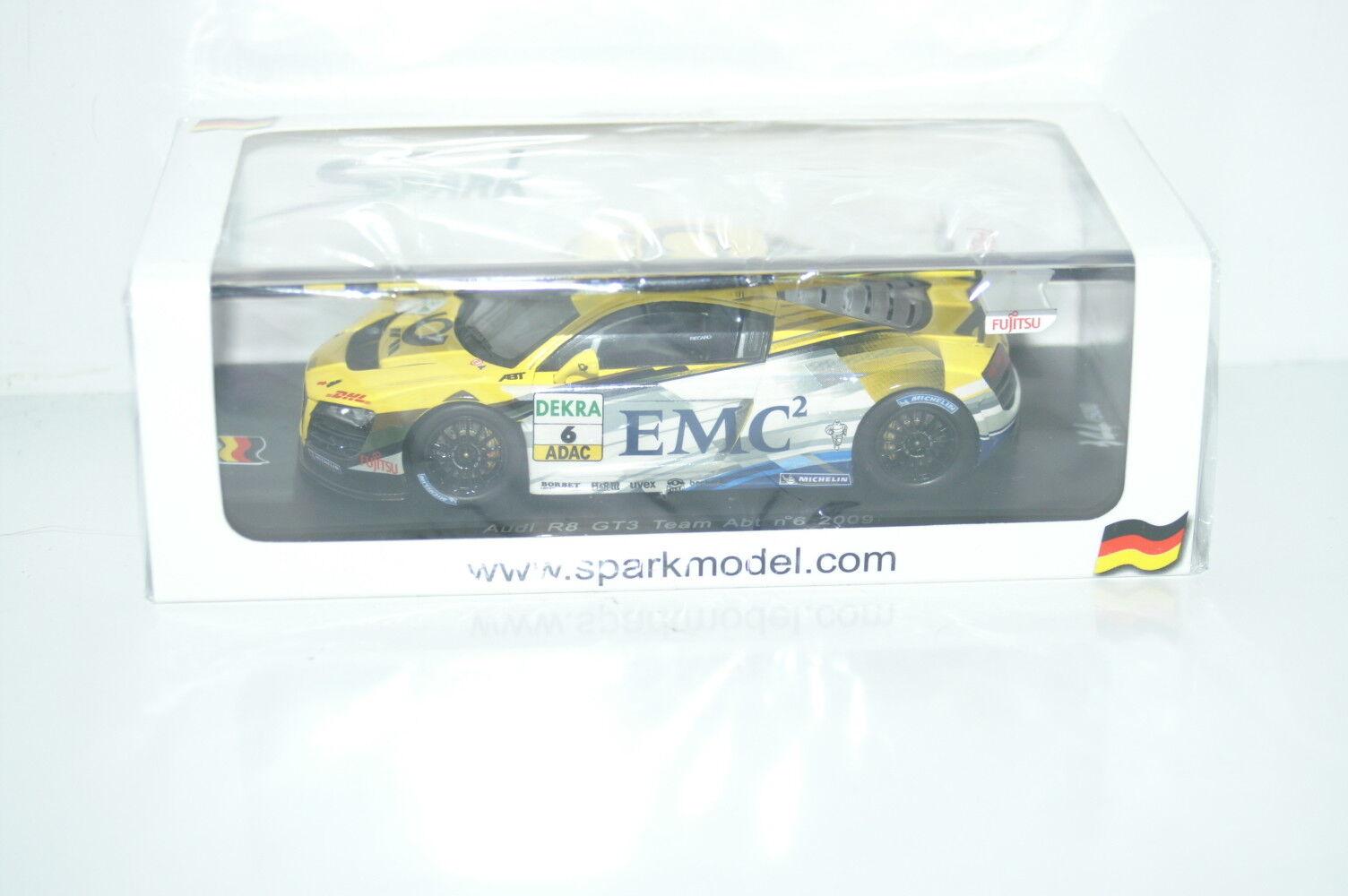 Audi R8 GT3 Team Abt n°6 2009