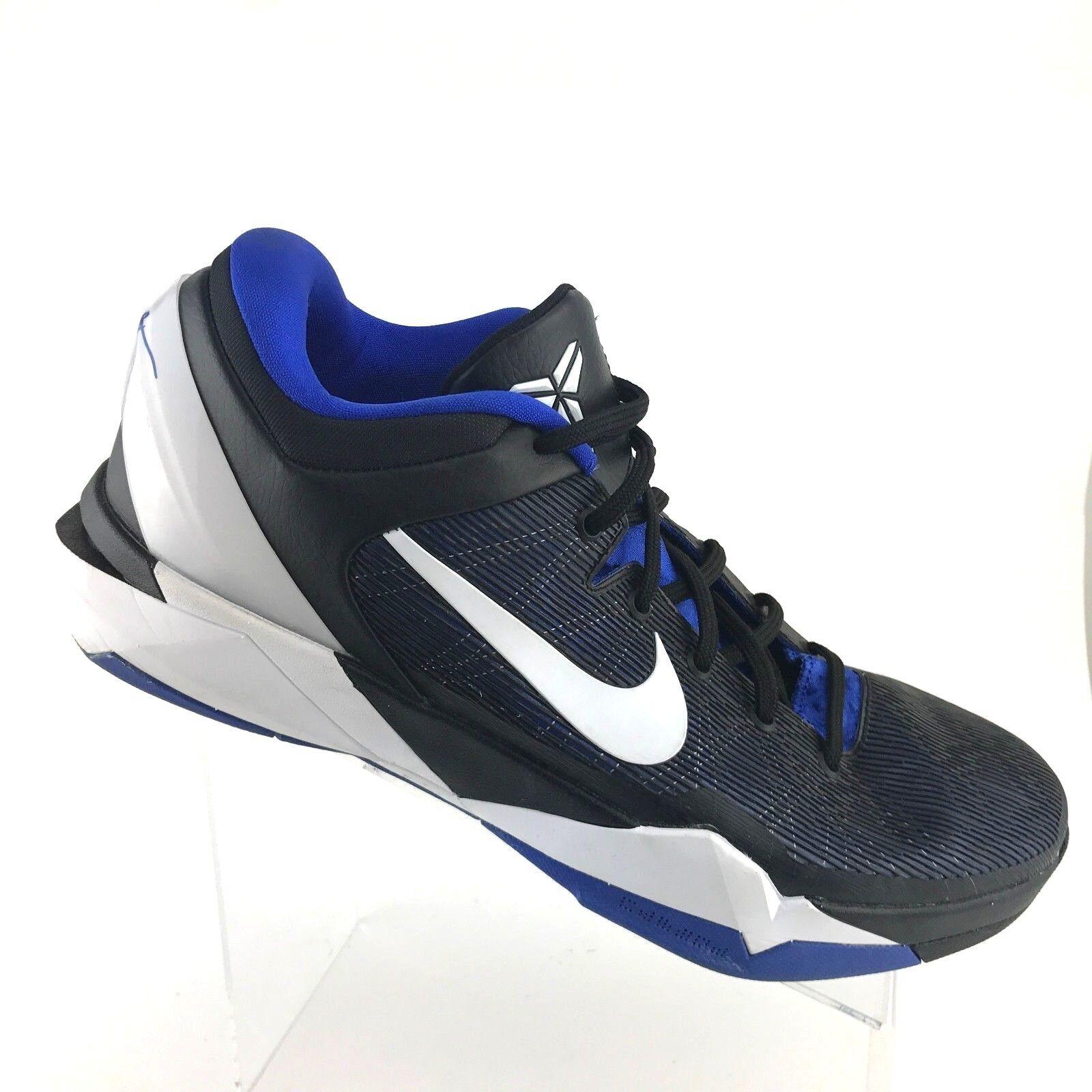 Nike Zoom Kobe VII 7  Treasure Blue Nero Duke Athletic Shoe Uomo SIZE 14