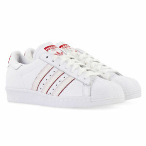 56d6faa66b89 Adidas Originals Superstar 80 s CNY DB2569 White Scarlet Chinese New ...