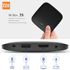 Original Xiaomi Mi 3S Android 6.0 TV Box 4K HDR Amlogic S905X QuadCore Bluetooth
