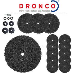 Dronco CBS CSD Nylon Grobreinigungs<wbr/>vlies Reinigungssche<wbr/>ibe 100/150 Spannschaft
