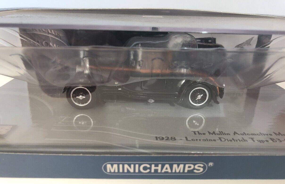 1 43 Minichamps LORRAINE DIETRICH TYPE B3-6 1928