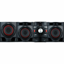 New LG CM4590 700W 2.1 Channel Mini Shelf Bluetooth Subwoofer Speaker System