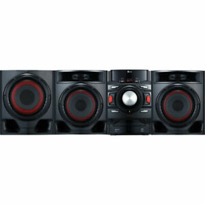 New-LG-CM4590-700W-2-1-Channel-Mini-Shelf-Bluetooth-Subwoofer-Speaker-System