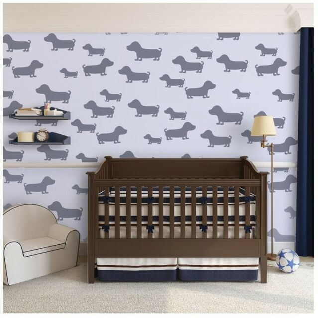 Marvelous Wall Stencils Puppy Dogs Animal Stencil For Walls Kids Room And Furniture