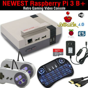 RetroPie-64GB-Raspberry-Pi-3-Retro-Gaming-Console-Complete-System-Hours-of-Play